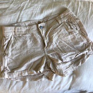 J.crew Linen Blend Shorts